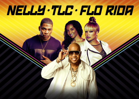 Nelly, TLC & Flo Rida at FivePoint Amphitheatre