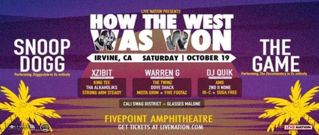How The West Was Won: The Game, Xzibit, Tha Alkaholiks, Sas & Warren G at FivePoint Amphitheatre