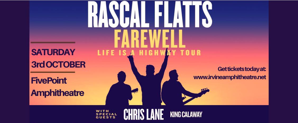 Rascal Flatts at FivePoint Amphitheatre