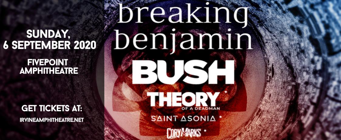 Breaking Benjamin & Bush at FivePoint Amphitheatre