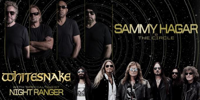 Sammy Hagar and the Circle & Whitesnake at FivePoint Amphitheatre