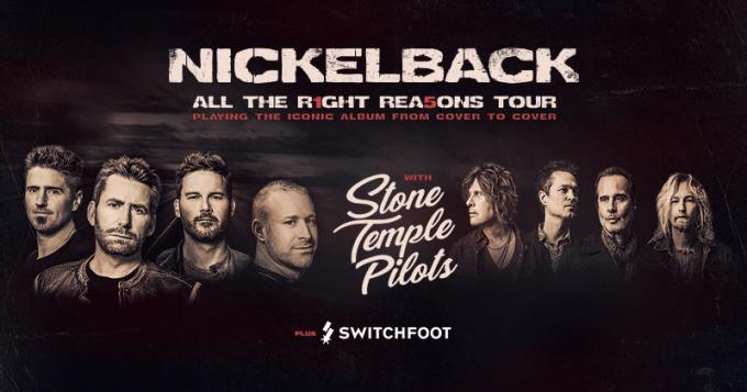 Nickelback, Stone Temple Pilots & Switchfoot at FivePoint Amphitheatre