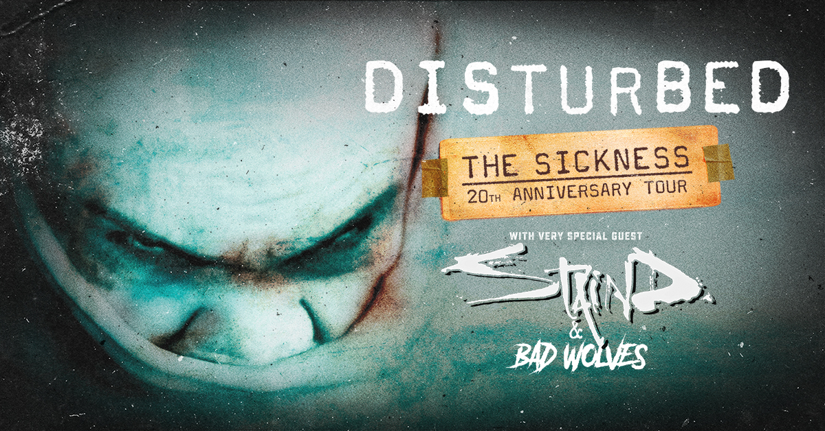 Disturbed, Staind & Bad Wolves at FivePoint Amphitheatre