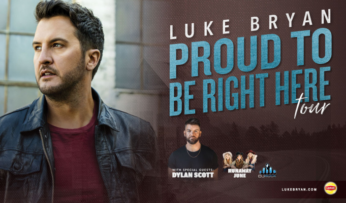 Luke Bryan, Dylan Scott & Runaway June at FivePoint Amphitheatre