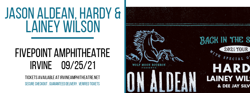 Jason Aldean, Hardy & Lainey Wilson at FivePoint Amphitheatre