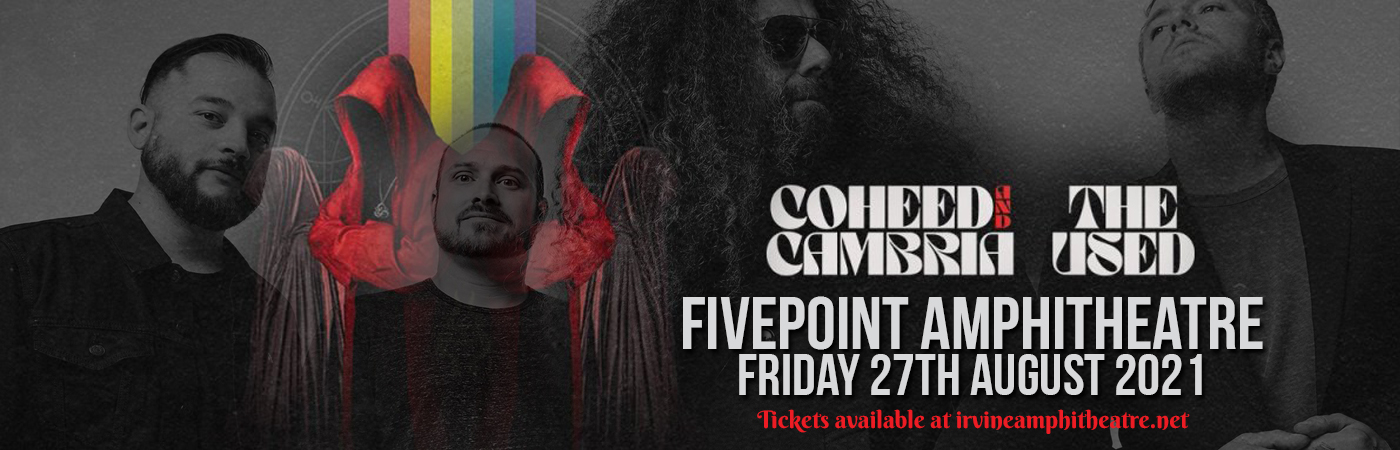 Coheed and Cambria & The Used at FivePoint Amphitheatre