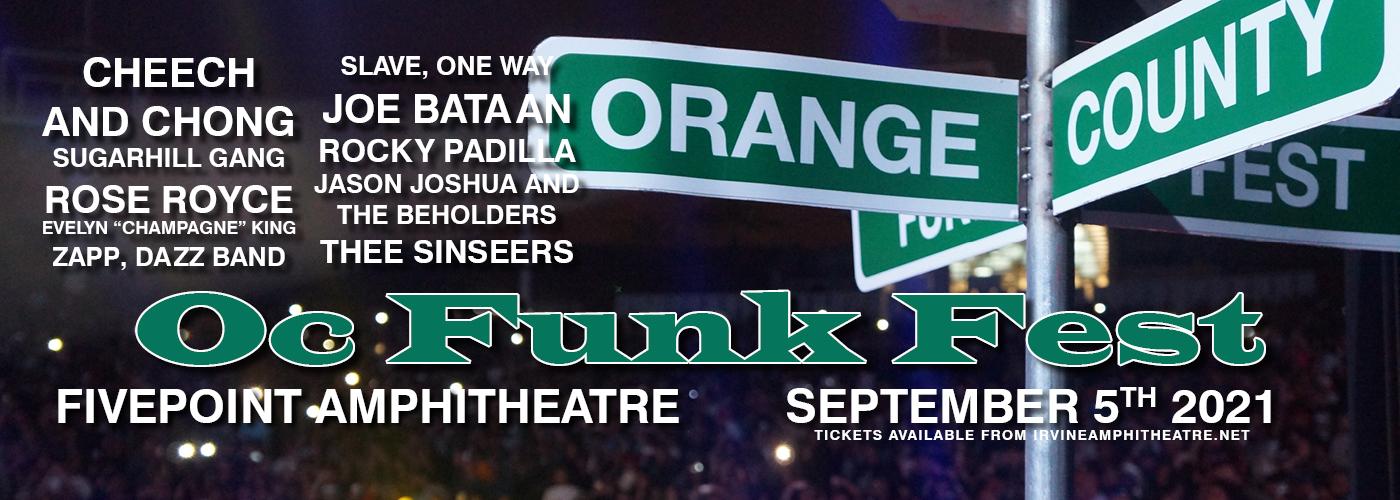 Firme Sundays Oc Funk Fest at FivePoint Amphitheatre