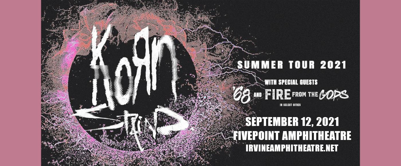 Korn & Staind at FivePoint Amphitheatre