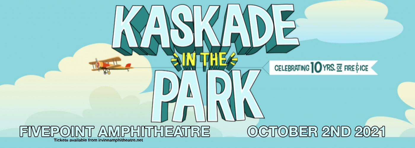 Kaskade In The Park at FivePoint Amphitheatre