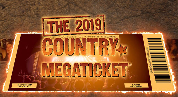 2019 Country Megaticket Tickets (Includes All Performances) at FivePoint Amphitheatre