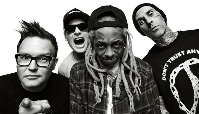 Blink 182 & Lil Wayne at FivePoint Amphitheatre
