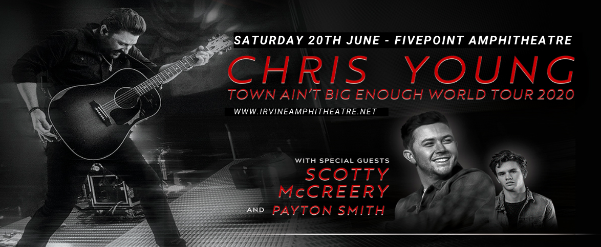 Chris Young, Scotty McCreery & Payton Smith at FivePoint Amphitheatre