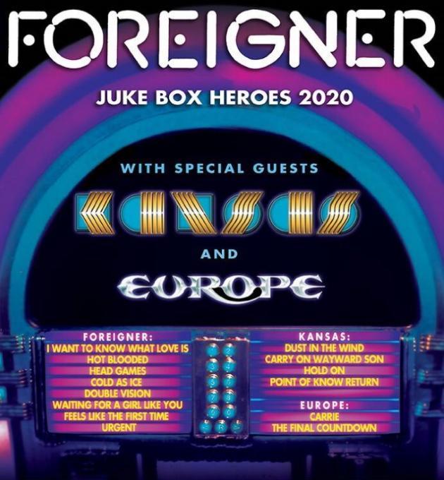 Foreigner, Kansas & Europe at FivePoint Amphitheatre