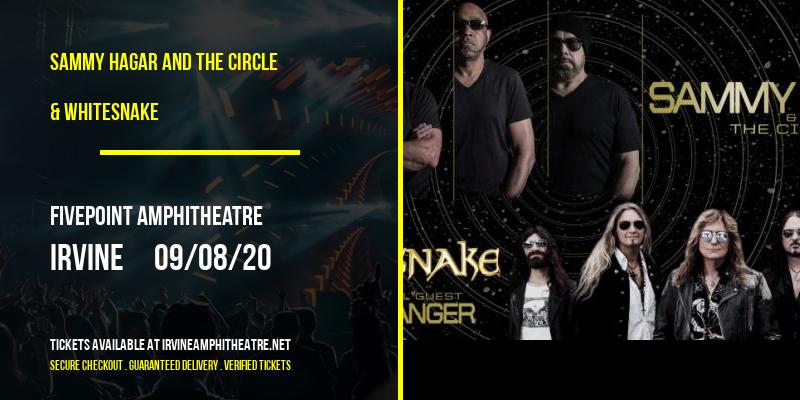 Sammy Hagar and the Circle & Whitesnake at FivePoint Amphitheatre