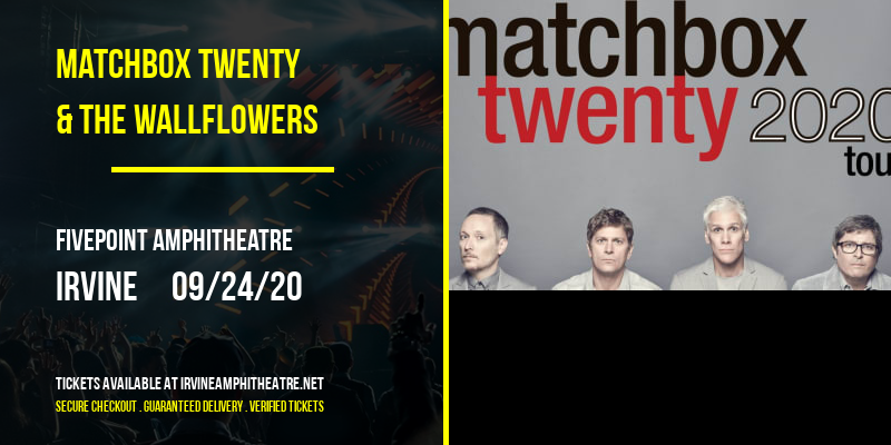 Matchbox Twenty & The Wallflowers at FivePoint Amphitheatre