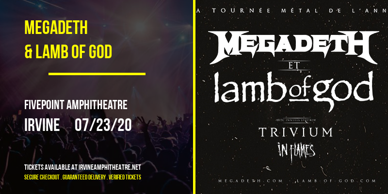Megadeth & Lamb of God at FivePoint Amphitheatre