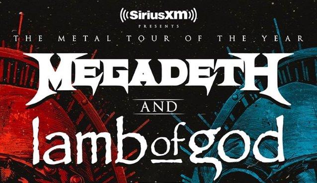 Megadeth & Lamb of God at FivePoint Amphitheatre