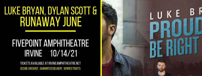 Luke Bryan, Dylan Scott & Runaway June at FivePoint Amphitheatre