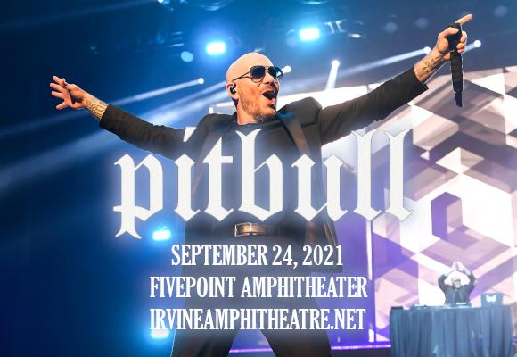 Pitbull at FivePoint Amphitheatre